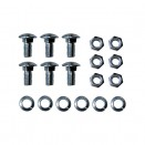 Front Bumper Carriage Bolt Hardware Kit, 46-64 Truck, Station Wagon
