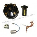 Distributor Rebuild Kit (points, rotor, cap, condensor), 41-45 MB, GPW with 4-134 engine