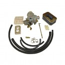 Performance Carburetor Conversion Kit 400 CFM for 2 Barrel, 76-86 CJ with 6 Cylinder 258
