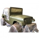 Olive Drab Green Flat Body & Chassis Paint Kit,  41-71 Jeep & Willys