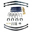 Complete Suspension Overhaul Kit,  53-64 CJ-3B