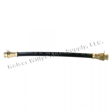 """Front Brake Hose 10-3/4""""  Fits  67-70 Jeepster with 10"""" brakes"""