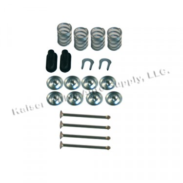 "Brake Shoe Hold Down Spring Kit  Fits  70-78 CJ with 11"" brakes"