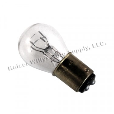 Front Parking & Turn Signal Bulb (6 volt - Dual Filament) Fits  53-71 Jeep & Willys