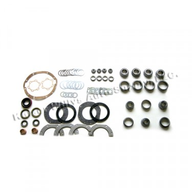 Complete Front Axle Overhaul Kit     Fits 41-66 Jeep & Willys with Dana 25
