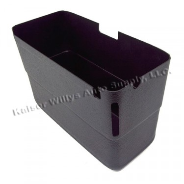 Plastic Glove Box Standard Size Replacement  Fits  46-64 Willys Truck, Station Wagon, Jeepster