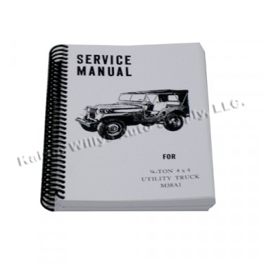 Mechanics (service) Manual  Fits  52-66 M38A1