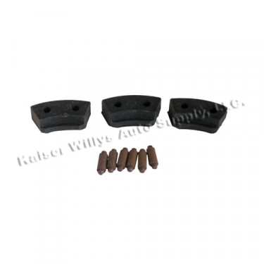 Horn Button Repair Kit  Fits  46-49 Truck,  Station Wagon, Jeepster