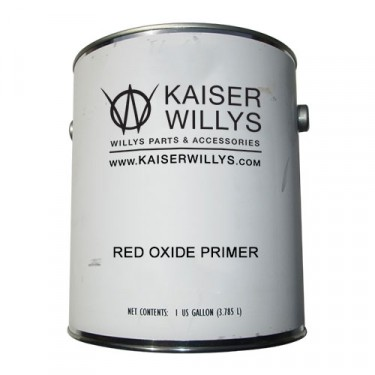 Red Oxide Primer Paint (Gallon) Fits 41-71 Jeep & Willys
