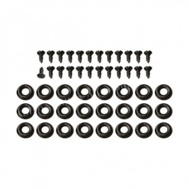 Seat Cover & Cushion Hardware Kit (Front - Upper) Fits 46-71 CJ-2A, 3A, 3B, 5, M38, M38A1