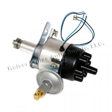 Complete Solid State Electronic Ignition Distributor 12 volt Fits  46-64 Jeep & Willys with 6-226 engine
