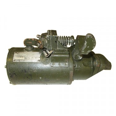 Rebuilt 24 Volt Starter (Later Style w/129 Tooth Ring Gear) Fits: 50-71 M38, M38A1