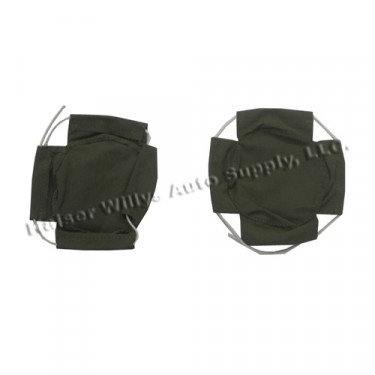 New Canvas Headlight Covers Fits  41-45 MB, GPW