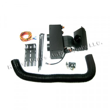 New Complete Under Dash Hydronic Heater Kit Fits  41-71 Willlys and Jeep