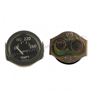 NOS Instrument Panel Temperature Gauge (24 volt) Fits : 50-66 M38, M38-A1