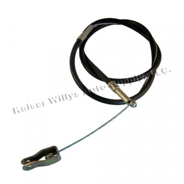 """Emergency Front Hand Brake Cable (62-1/2"""") Fits  46-55 Station Wagon with Planar Suspension (2wd)"""