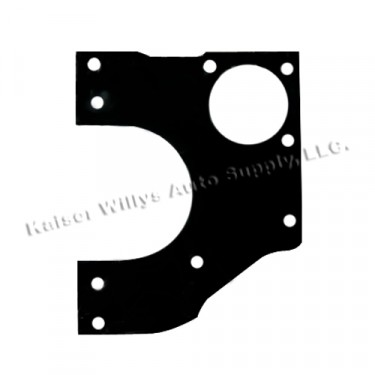 New Replacement Front Engine Plate Gasket Fits : 41-45 MB, GPW, CJ-2A (chain driven)