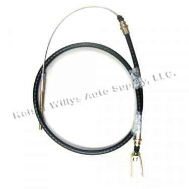 "Clutch Release Cable (58-1/4"") Fits : 66-71 CJ-5 with V6"