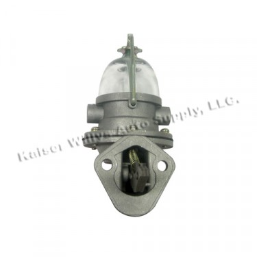 New Replacement Fuel Pump (single action)  Fits  41-71 Jeep & Willys with 4-134 engine