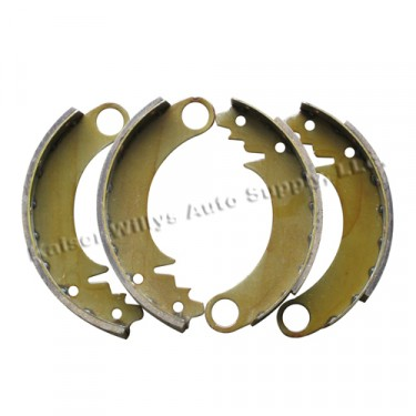 "Brake Shoe Set 9"" (per axle)  Fits  41-53 MB, GPW, CJ-2A, 3A, M38"