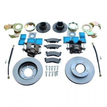 Complete Front Disc Brake Conversion Kit Fits  41-71 Jeep & Willys