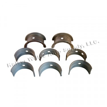 Main Bearing Set - Standard  Fits  50-55 Station Wagon, Jeepster with 6-161 engine