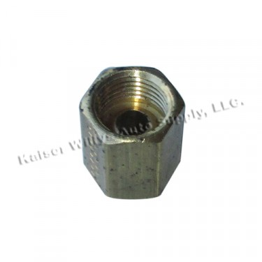 Oil Line Union Adapter Fitting Fits : 41-53 MB, GPW, CJ-2A, 3A