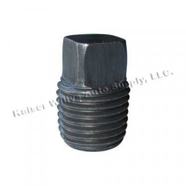 """Fuel Strainer (filter) Housing Pipe Plug (1/4"""")  Fits 41-45 MB, GPW"""