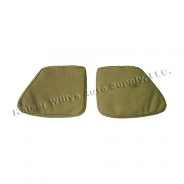 New Canvas Crash Pads (pair) FIts 41-45 MB, GPW