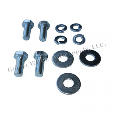Oil Filter Canister Mounting Bracket Hardware Kit Fits  46-53 Jeep & Willys with 4-134 L engine