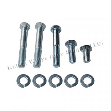 Rear Bearing Cap to Transfer case Hardware Kit Fits  41-71 MB, GPW, CJ-2A, 3A, 3B, 5, M38, M38A1