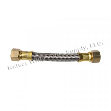 New Braided Steel Flexible Fuel Hose Fits  41-45 MB, GPW