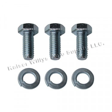 Steering Gear Box Upper Cover to Housing Hardware Kit Fits 41-71 MB, GPW, CJ-2A, 3A, 3B, 5, 6, M38, M38A1, Station Wagon