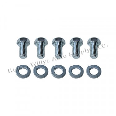 Water Pump to Cylinder Block Hardware Kit Fits  54-64 Truck, Station Wagon with 6-226 engine