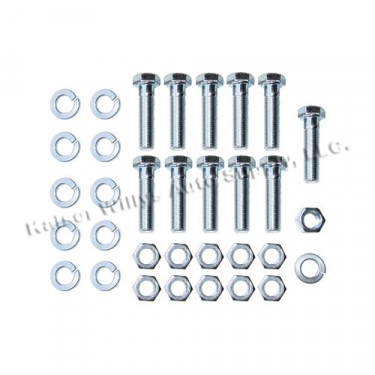 Rear Axle Differential Housing Hardware Kit Fits 46-56 Truck with Timken (clamshell) rear axle