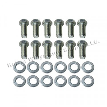 "Backing Plate to Steering Knuckle Hardware Kit Fits  46-64 Truck, Station Wagon with 11"" brakes"
