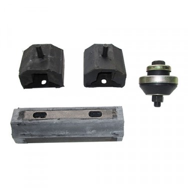 Engine, Transmission & Transfer Case Mount Kit (insulators) Fits 62-68 Truck, Station Wagon with 6-230 OHC engine