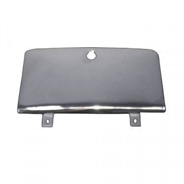 Glove Box Door in Stainless Steel  Fits  72-86 CJ