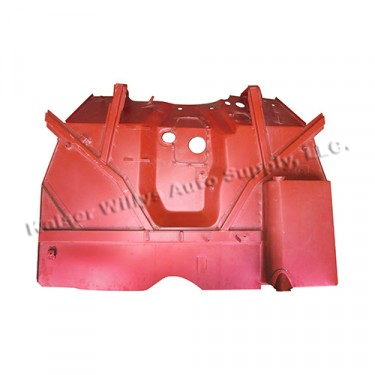 Complete Front Floor Pan with Welded Braces  Fits  41-45 MB, GPW
