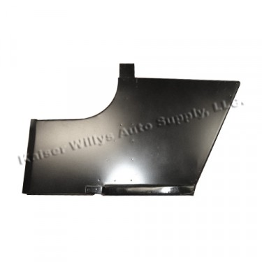 Cowl Side Panel with Step for Passengers Side  Fits  46-53 CJ-2A, 3A