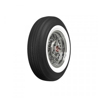 "BF Goodrich Road Tread Tire 5.90 x 15"" White Wall  Fits  SW, Jeepster"