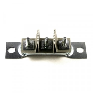Headlight Wire Junction Block (3 post)  Fits  41-71 Jeep & Willys