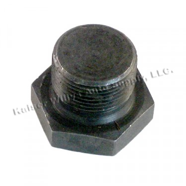 Replacement Oil Pan Plug  Fits  41-71 Jeep & Willys with 4-134 engine