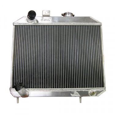 All Aluminum Radiator Assembly - USA Made Fits : 41-52 MB, GPW, CJ-2A, M38