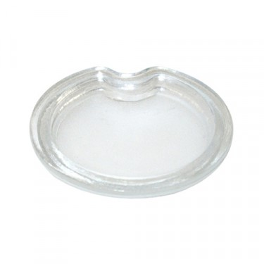 Replacement Parking Light Lens (recessed) Fits  45-46 CJ-2A