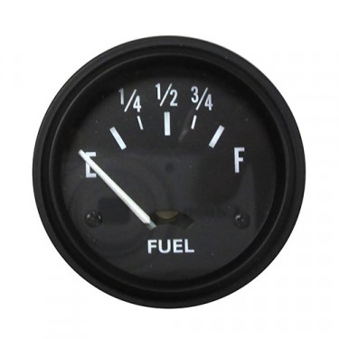 Instrument Panel Fuel Gauge (12 volt)  Fits 41-66 MB, GPW, CJ-2A, 3A, 3B, M38, M38A1