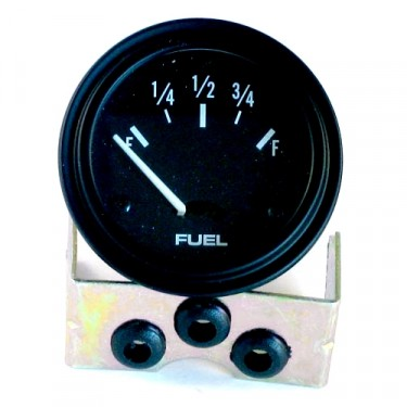 Instrument Panel Fuel Gauge (6 volt)  Fits  41-64 MB, GPW, CJ-2A, 3A, 3B