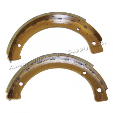 Emergency Brake Shoe Set  Fits  41-66 MB, GPW, CJ-2A, 3A, 3B, 5, M38