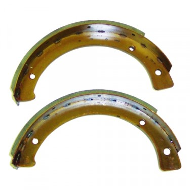 Emergency Brake Shoe Set  Fits  43-71 MB, GPW, CJ-2A, 3A, 3B, 5, M38