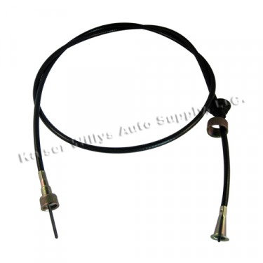"Speedometer Cable Assembly 60""  Fits  41-71 MB, GPW, CJ-2A, 3A, 3B, 5, Commando, FC-150, FC-170"